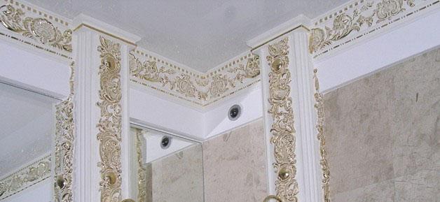Лепной декор для украшения интерьера